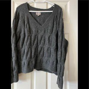 CYRUS.    grey oversized sweater